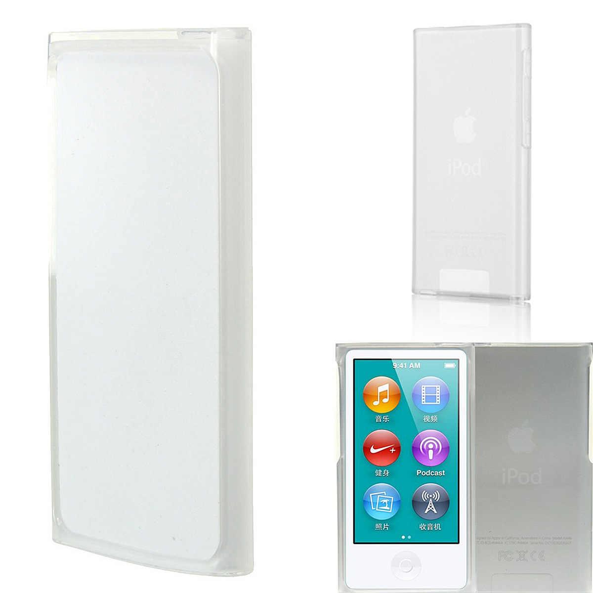 Transparan Bening TPU Gel Case Kulit Penutup untuk Apple IPod-Nano-7th Generasi 7G Melindungi Terhadap Goresan Lecet Tahan Lama