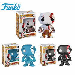 Funko pop 10cm God of War Kratos Characters Action Figure toys Anime Model Pvc for Friend Birthday Gift Collection For Model