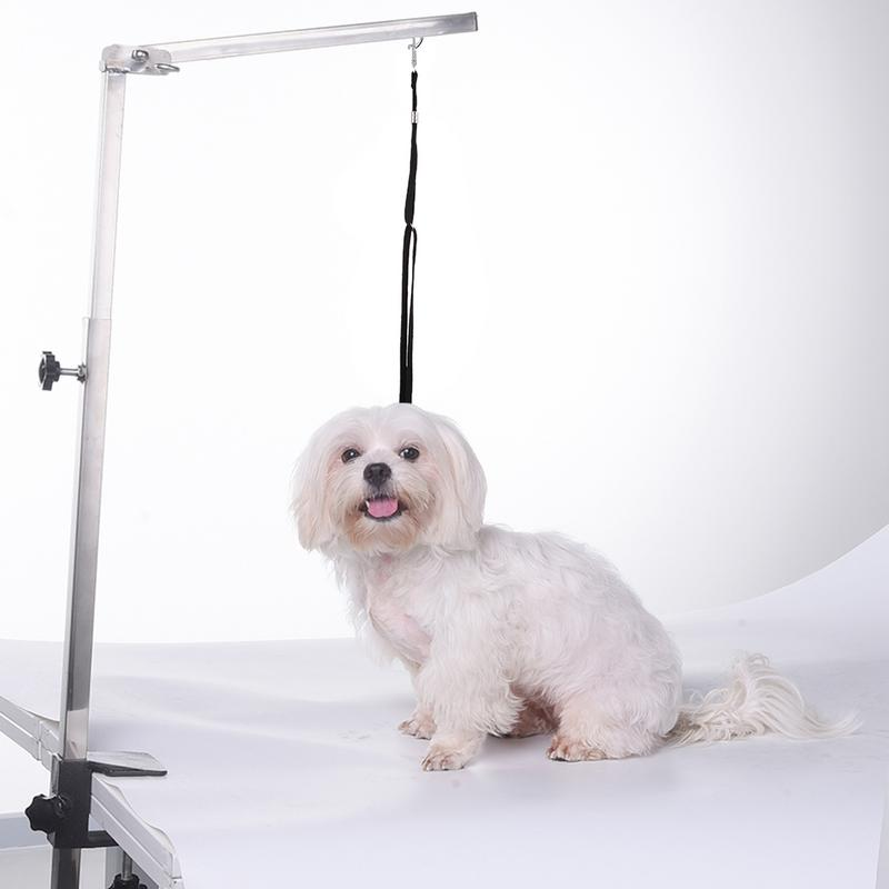 font b Pets b font Steel Suspension Grooming Bracket With Sling Adjustable Metal Table Arm