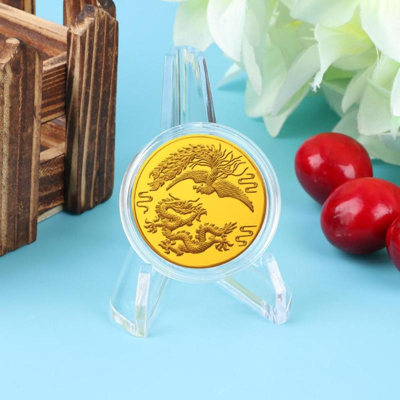 2019  New Fashion Summer Coins Medals Easel Acrylic Badge Display Holder Show Stand Exhibit Mount Accessories For Room Display