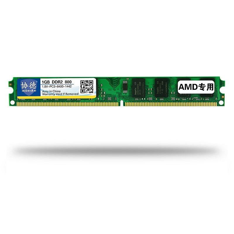 Xiede Desktop Computer Memory Ram Module Ddr2 800 Pc2-6400 240Pin Dimm 800Mhz