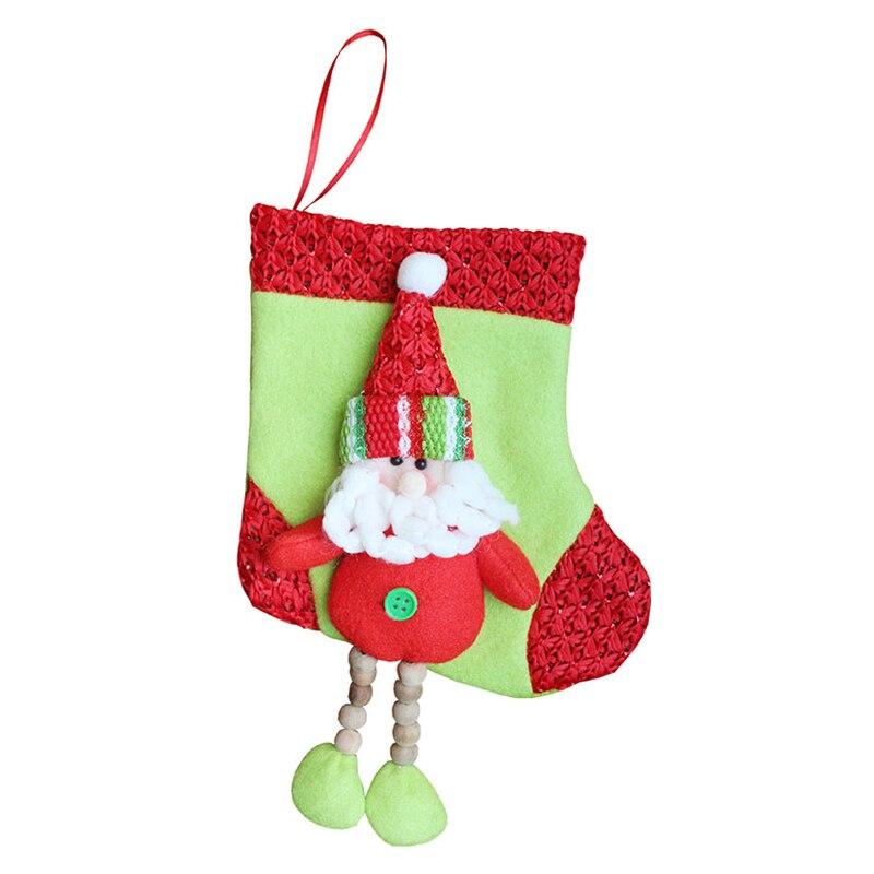Kalender, Planer Und Karten Verantwortlich Ppyy Neue-1 Stücke Kinder Weihnachten Strümpfe Vliesstoffe Mini Santa Socke Geschenk Tasche Weihnachten Baum Dekoration Gehängt Santa Claus Ausgereifte Technologien