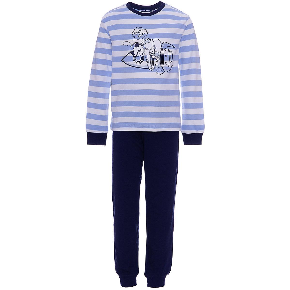 ORIGINAL MARINES Sleepwear & Robes 9500790 Cotton Baby Boys clothing pajamas db4072 dave bella autumn baby boys red clothing set patchwork clothing set