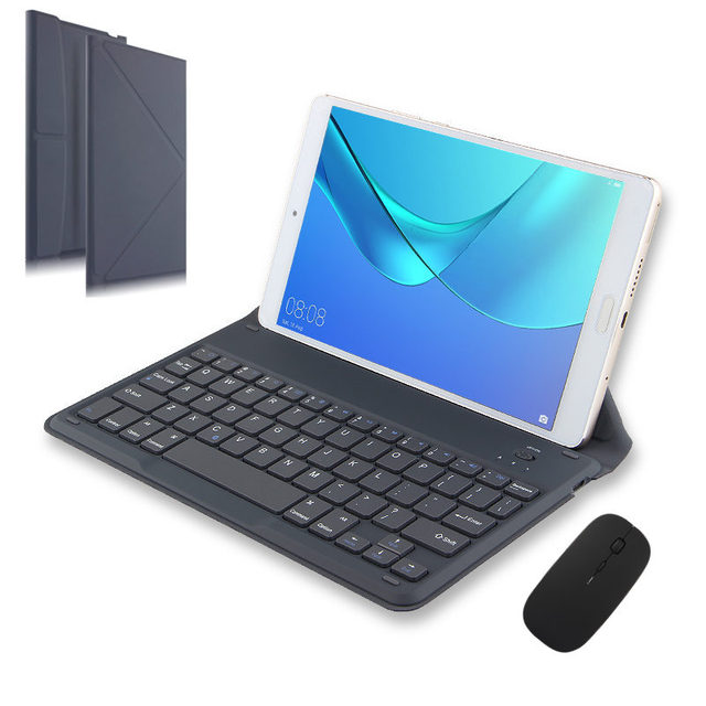 more photos f2a60 dacee US $25.43 5% OFF|Bluetooth Keyboard For Samsung Galaxy Tab E 9.6 A A6 10.1  SM T560 T561 T580 T585 P580 5 Tablets Wireless Bluetooth keyboard Case-in  ...