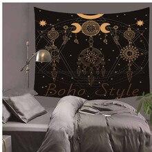 India Mandala Tapestry Hanging Wind Chimes Print Bohemian Wall Tapestry Beach Towel Shawls Wall Carpet Home Decor LZT6 estel бальзам otium volume легкий для объёма волос 200 мл