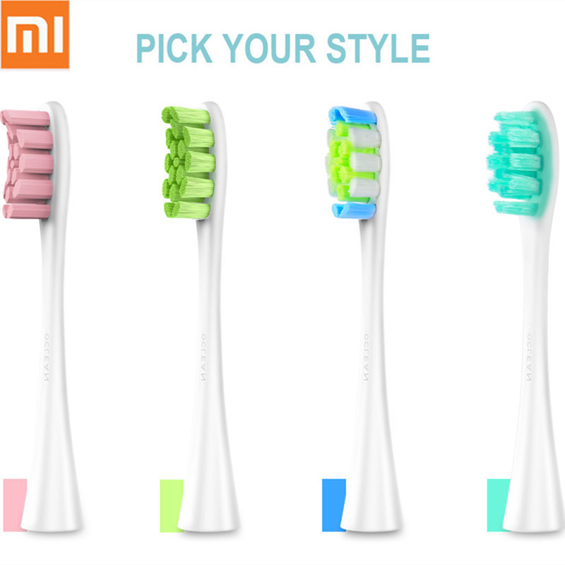 New Xiaomi Oclean SE/One/Air Replacement Brush Heads 2pcs For Oclean Electric Sonic Toothbrush Deep Cleaning Tooth Brush Heads