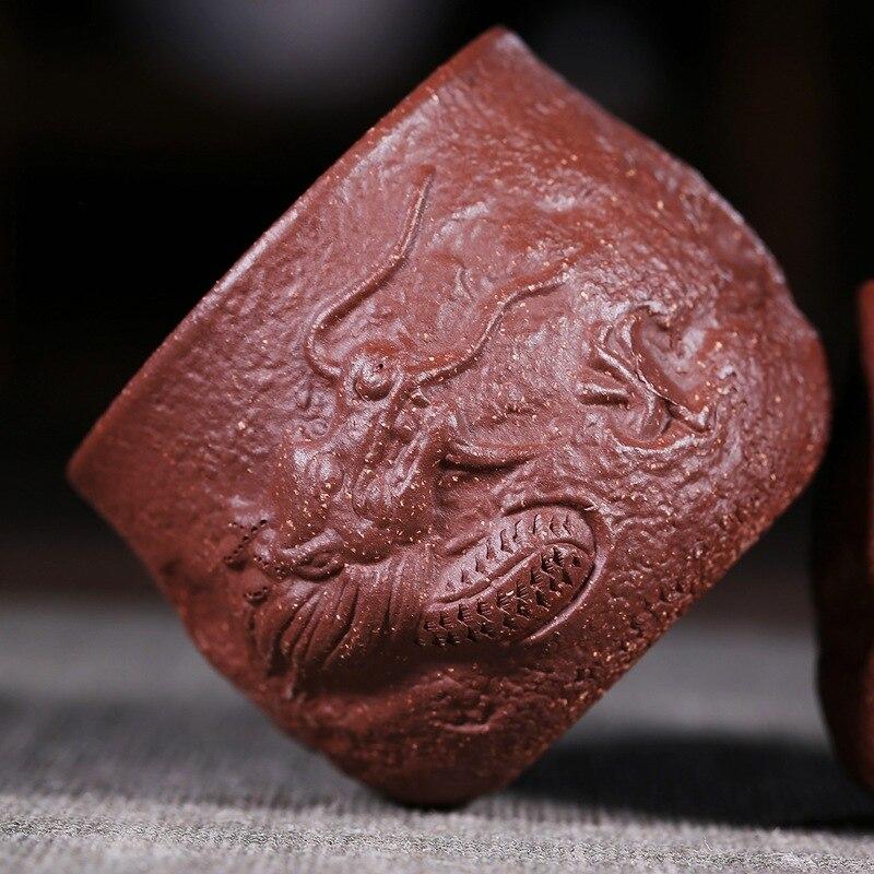Red Clay Dragon: Hotel Zisha Shou Gong Bei Wholesale Kung Fu Tea Yixing Ore
