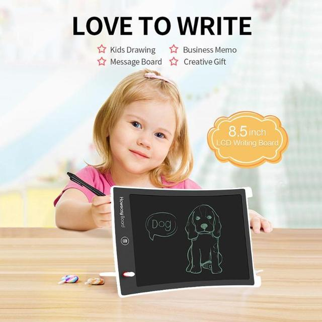 Drawing Board 8.5 Inch LCD Writing Tablet Kids Printing Graffiti Pad Graphics Board LCD Writing Tablet for Early Study 5