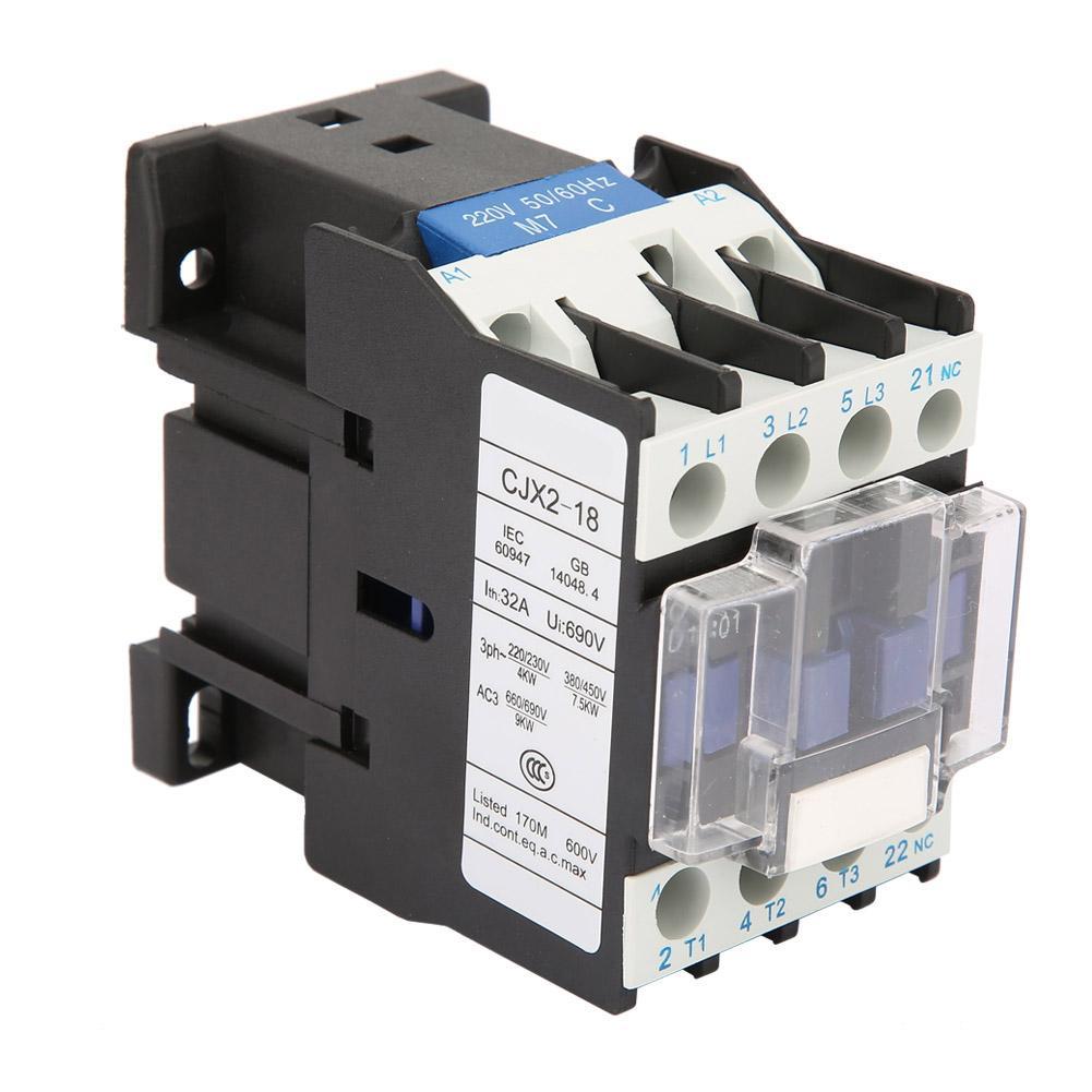 380V 65A AC Contactor CJX2-6511 High Sensitivity Industrial Electric AC Contactor