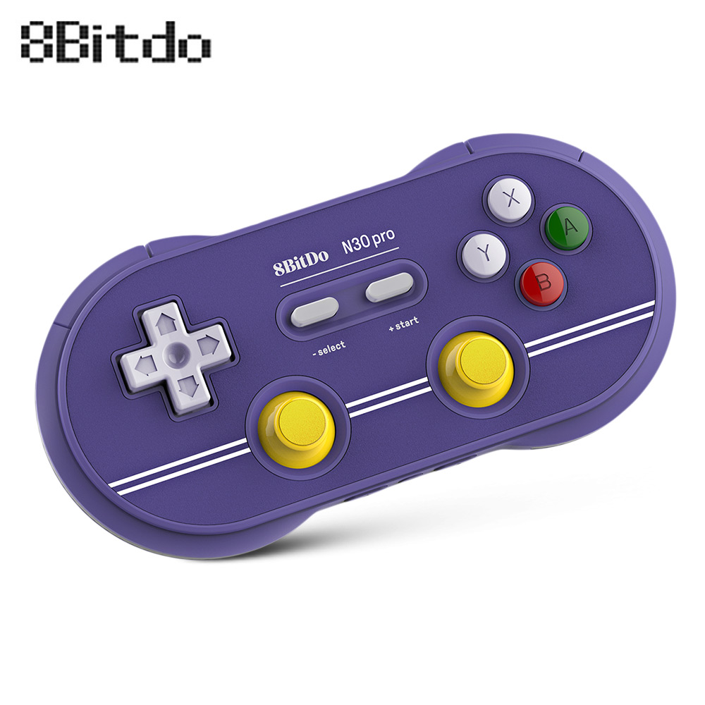 Newest 8Bitdo N30 Pro 2 Wireless Bluetooth Controller Gamepad with Joystick  Support Switch mac iOS Android USB-C connection