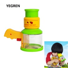 Bug Catcher and Viewer Magnifier Children Kids Discovery Acrylic Magnifying Glass Nature Observation Insects Microscope Boys