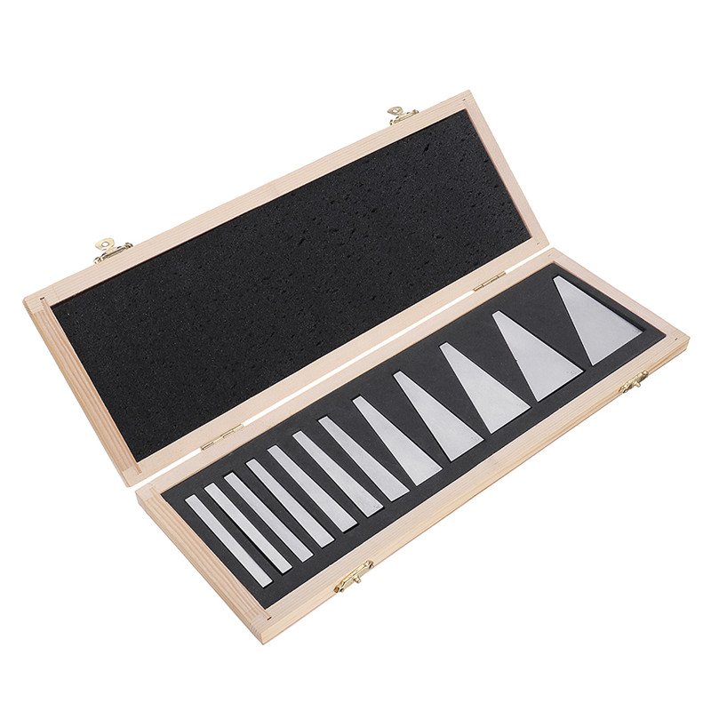 12pcs Precision Angle Blocks Set 1 4 to 30 Degree Gauge Milling Machinist Lathe Tools Durable