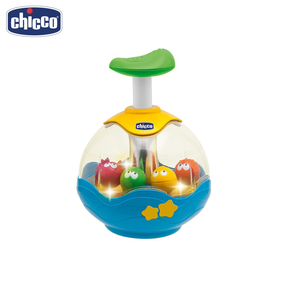 Spinning Top Chicco 90758 Learning & Education for boys and girls kids toy baby Talking Music boys letter print top