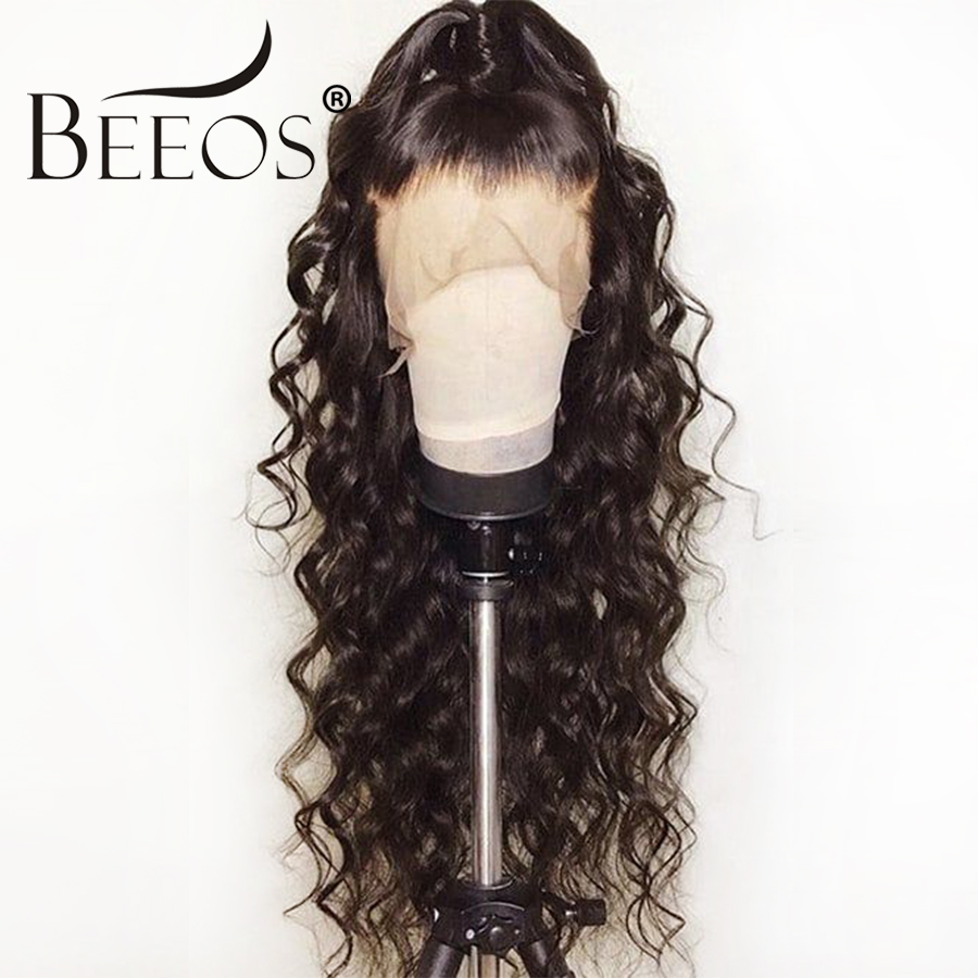 BC Curly 13*6 Brazilian Lace Front Human Hair Wigs With Baby Hair Lace Front Wig Remy Hair Wig Pre Plucked Bleached Knots