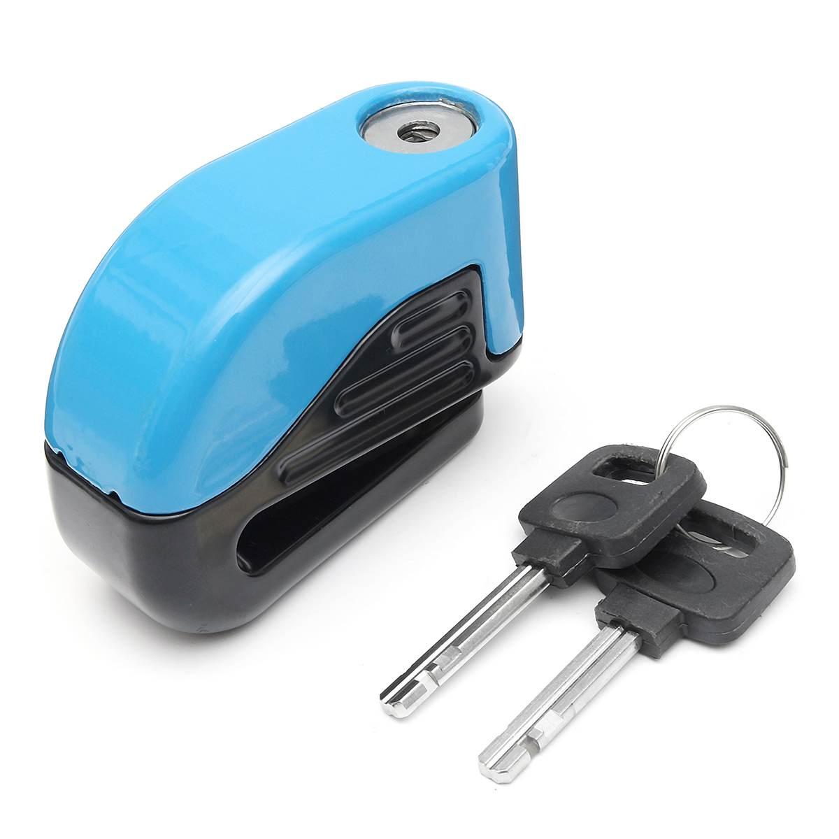 Free Shipping Waterproof Motorcycle Alarm Lock Bike Lock Security Anti-theft Lock Moto Disc Brake Lock Alarme Moto