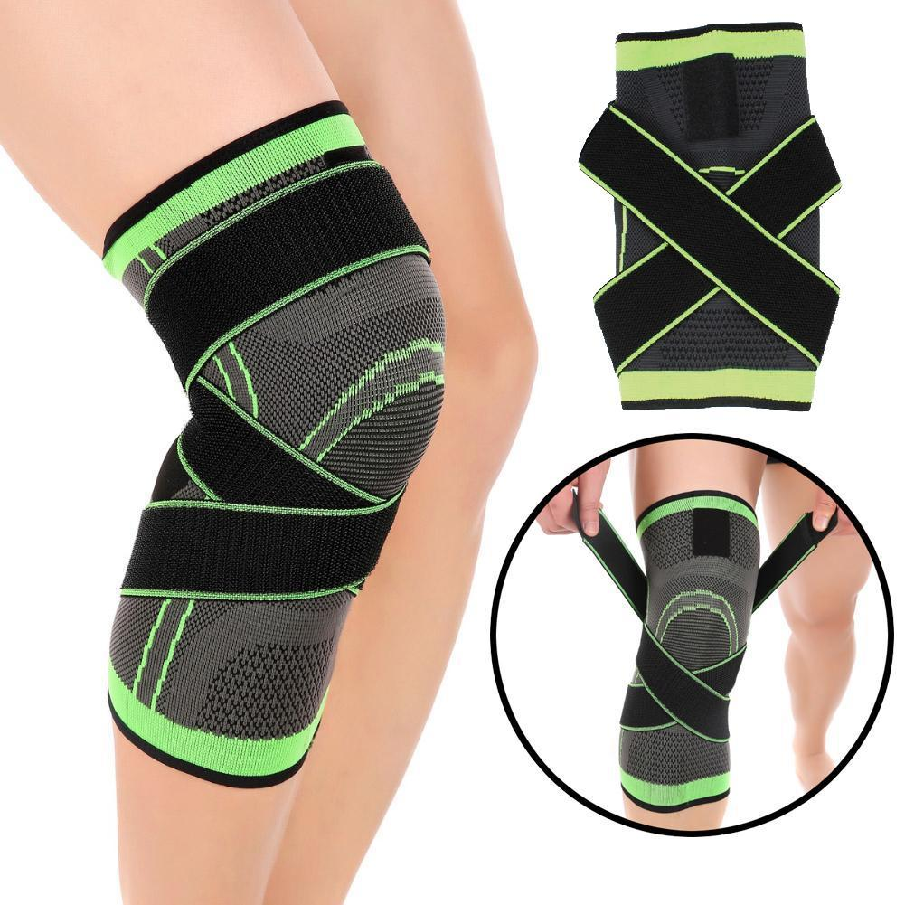Hot Sale Single Knee Compression Sleeve For Joint Pain And Arthritis Relief S-XXL Size Warm To Prevent Movement Injuries