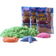 100g DIY Playing Sand Handmade Claying Colorful Dynamic Gift Amazing Indoor Educational Colored Soft Antistress Kids Toy