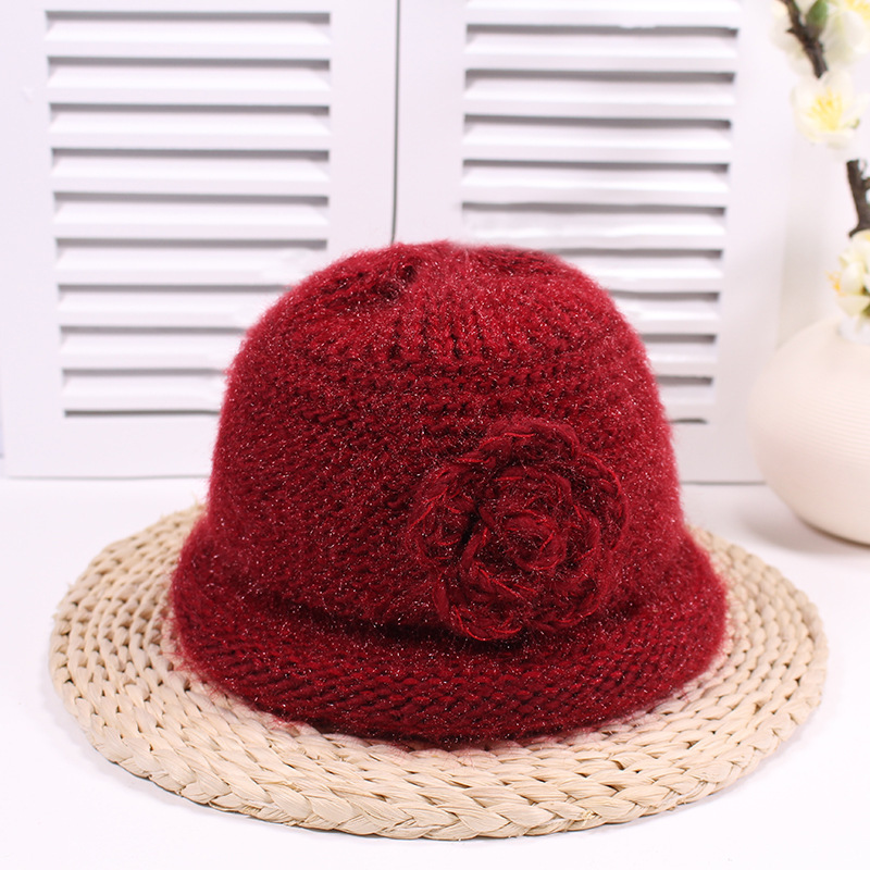 Hats For Women Winter Knitted Beanie Hat New Fashion Women's Hats Warm Lady's Caps Woman's Soft Knit Crochet Cap