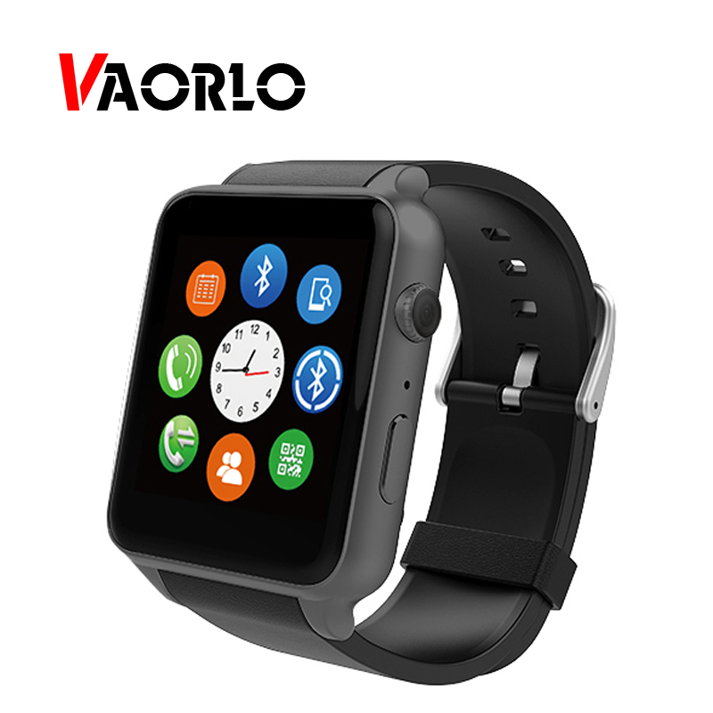 VAORLO GT88 Smartwatch Android Pedometer Hear Rate Smart Watch For IOS Android Phone Camera HD LCD Wristband Bluetooth MTK2502C