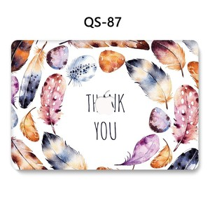 Image 2 - For Notebook MacBook Laptop Case Sleeve New For MacBook Air Pro Retina 11 12 13.3 15.4 Inch With Screen Protector Keyboard Cove