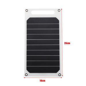 Image 5 - LEORY 5V 10W DIYพลังงานแสงอาทิตย์แบบพกพาCamping Slim Light USBชาร์จPower Bank Pad Universalสำหรับโทรศัพท์แสงรถ