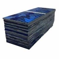 100 * солнечная панель Solars Cell 0,5 V 320mA 52x19mm DIY батарея Зарядка прочный верх