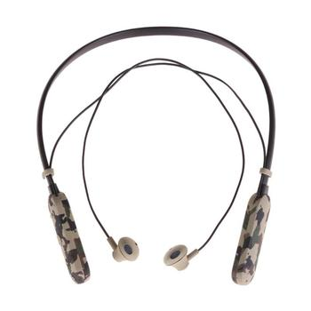 Bluetooth Earphone Noise Reduction Stereo Neck Hanging Headset for PS3
