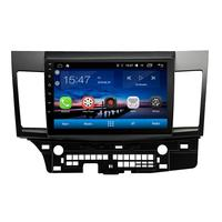 Funrover автомобиля радио мультимедиа стерео плеер 8,0 Android 10,1 для Mitsubishi Lancer 2016 2007 dvd плеер gps навигации wi fi navi