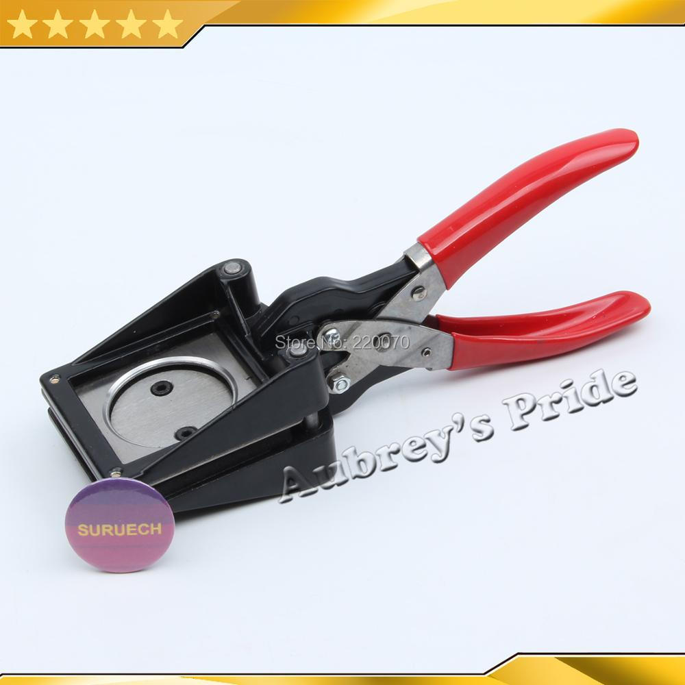 Free Ship Hand Held Manual Round Actual Cutting Size 37MM 1-1/2