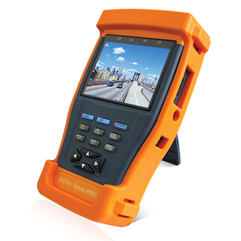 Testeur de caméra vidéo Ntsc/Pal affichage, Test de données Ptz, testeur de câble Utp 3.5 pouces Tft-Lcd multimètre numérique testeur de vidéosurveillance Pro (Eu P
