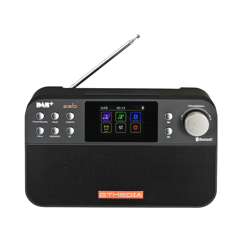 Unterhaltungselektronik Gtmedia Z3b Tragbare Digitale Dab Fm Stereo Radio Receiver Tft Alarm Uhr GroßE Sorten