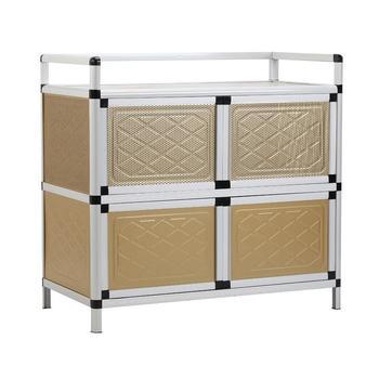 Dolap Kaplama Aparador Comedores de aleación de aluminio del Gabinete de  muebles de Cocina Mueble Cocina armario Mueble Buffet Aparador