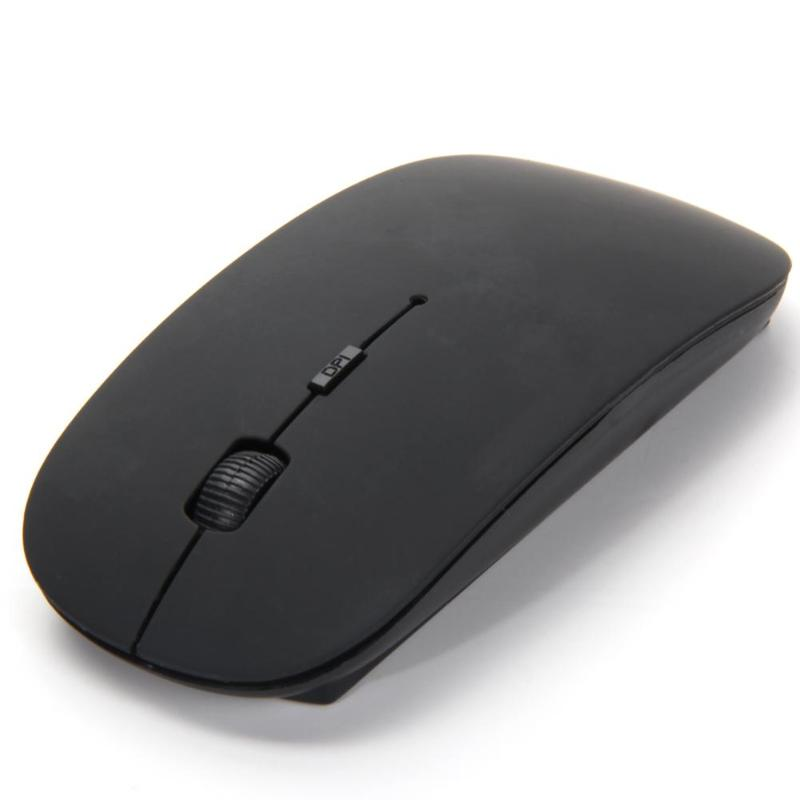 2.4G Receiver DPI 2400 USB Wireless Optical Mouse Super Slim Computer Mice Mouse For Apple PC Laptop Desktop Mice Mouse