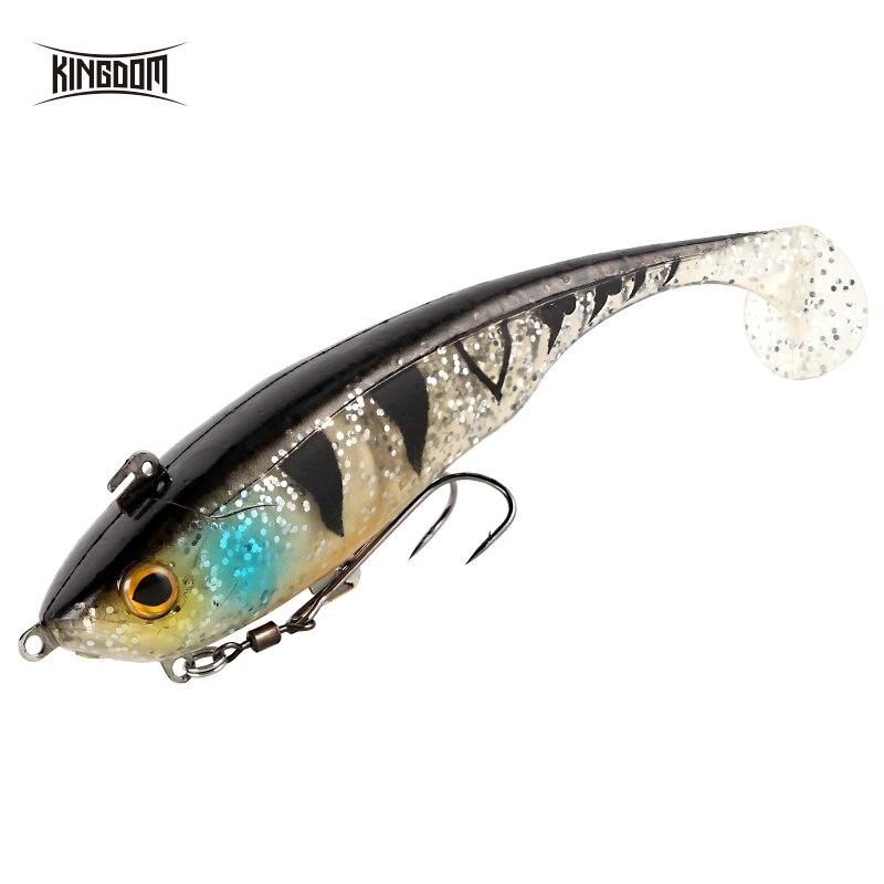 Kingdom High Quality Soft Baits Swim Shad Fishing Lures 170mm 55g Good Action Saltwater Swimbait Bass Fishing Soft Lure