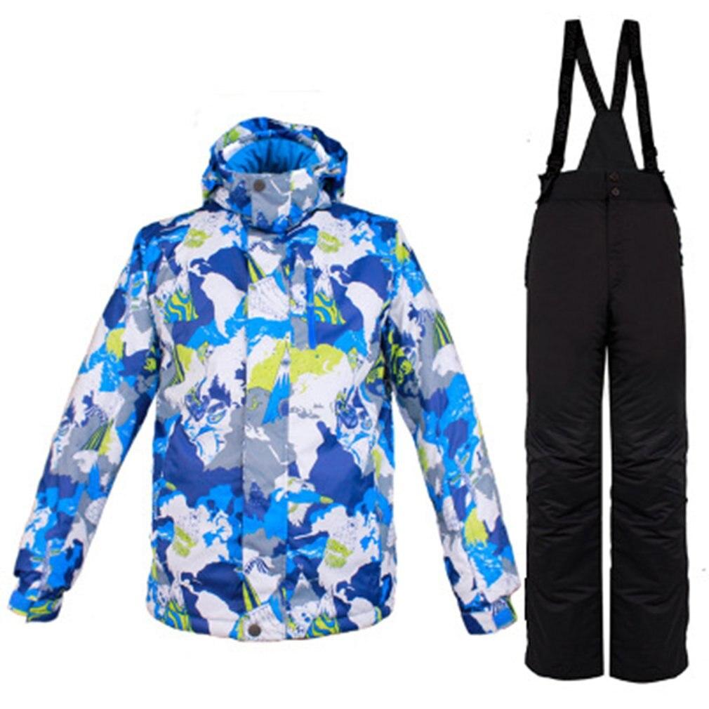 Ensemble de vêtements de Ski pour hommes veste de Ski costumes veste chaude d'hiver veste de Sport de plein air
