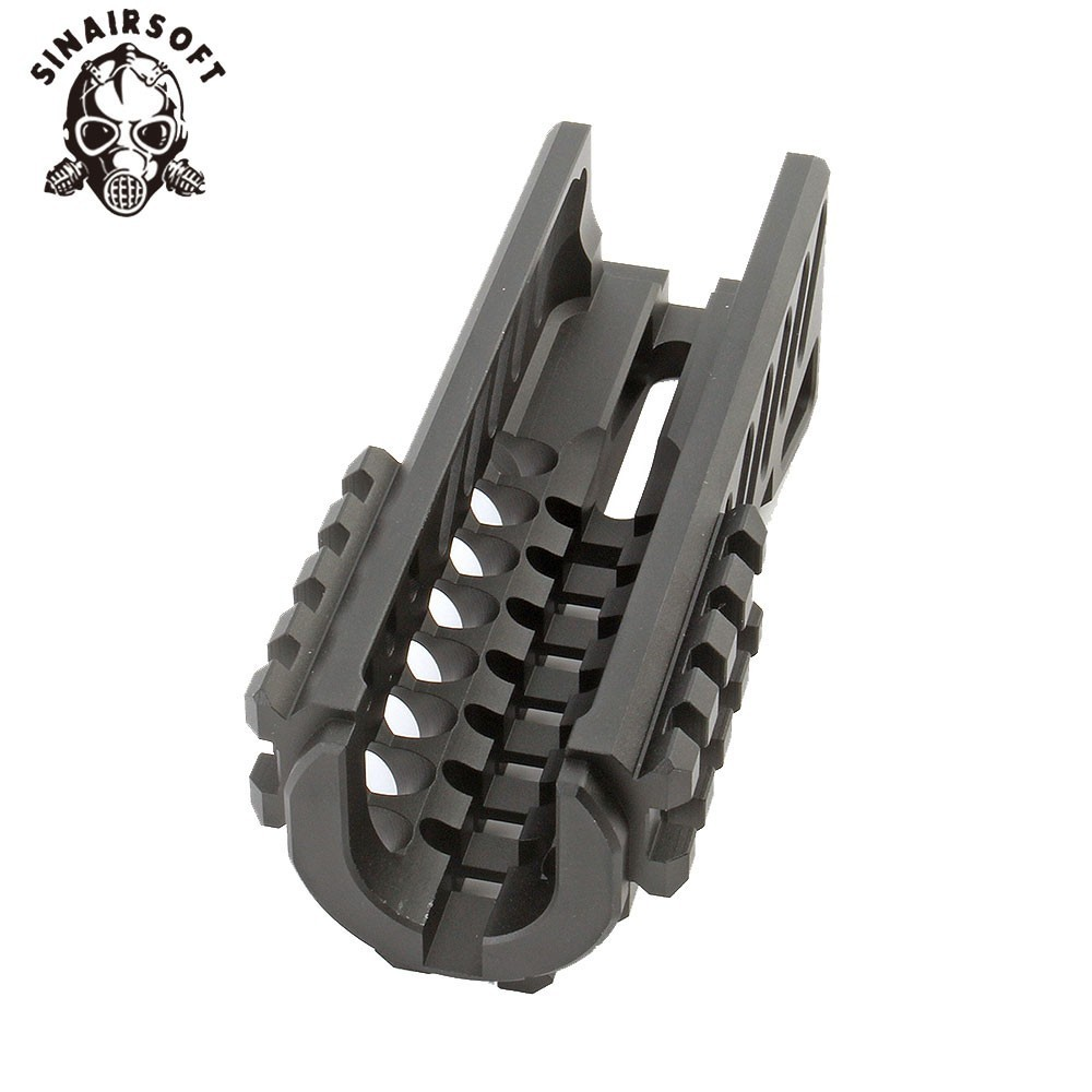 Image 4 - Hot Tactical Aks 47U Picatinny Rail Handguard Multi function Aluminum Cutting B11 Hunting Airsoft Paintball Army Accessories-in Paintball Accessories from Sports & Entertainment