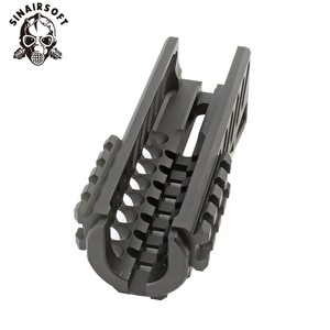 Image 4 - Hot Tactical Aks 74U Picatinny Rail Handguard Multi function Aluminum Cutting B 11 Hunting Airsoft Paintball Army Accessories