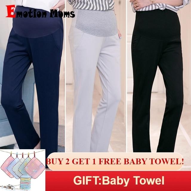 e9985dd49dc9b Emotion Moms Maternity Clothes Maternity Pants&Capris pregnancy Pants  Maternity trousers For Pregnant Women Pregnancy Pants
