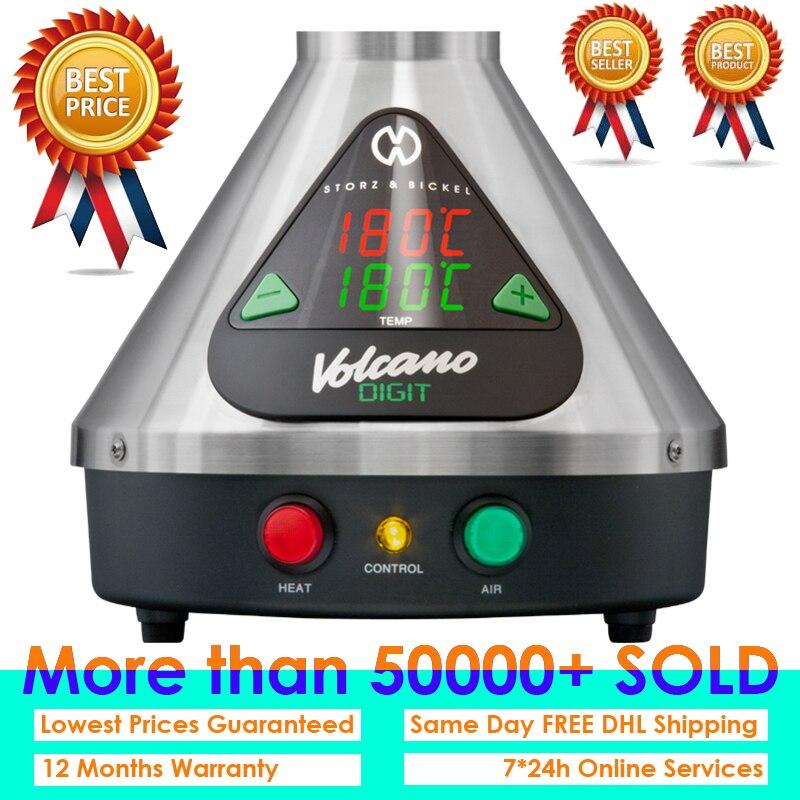 2019 di Estate di Arrivo di TUTTI I NUOVI Desktop Digit Vulcano Vaporizzatore con veloce DHL LIBERA il Trasporto + Trasporto di Facile Valvola Kit + trasporto Herb Grinder