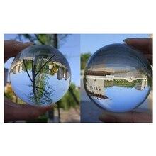 Новое поступление, хит, 40 мм, прозрачный Кристальный магический шар, Азиатский натуральный кварц, прозрачный Кристальный исцеляющий шар, шар,, хит