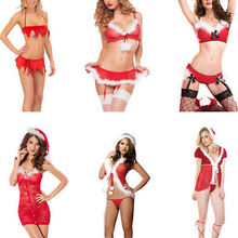 Hirigin Sexy Women Exotic Set Chirstmas Exotic Apparel Women Christmas Nightwear