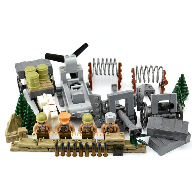 New legoing ww2 blocks Soviet soldiers horse carriage ZIS-3 cannon  Military Army sets figures Building blocks toys boysNew legoing ww2 blocks Soviet soldiers horse carriage ZIS-3 cannon  Military Army sets figures Building blocks toys boys