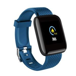 "Image 2 - D13 1.3"" Color Screen Smart Watch 116 PLUS Smart Bracelet Blood Pressure Oxygen Monitor Visible Message Show Smartwatch Bracelet"