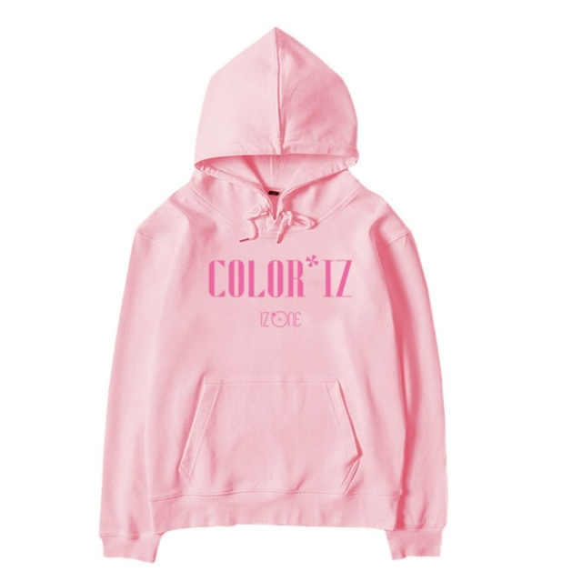 US $26 99 |Kpop IZONE New Album Coloriz Pullover Sweatshirt Fashion Support  Cap Hoodie Cotton Fleece Outwear-in Hoodies & Sweatshirts from Women's