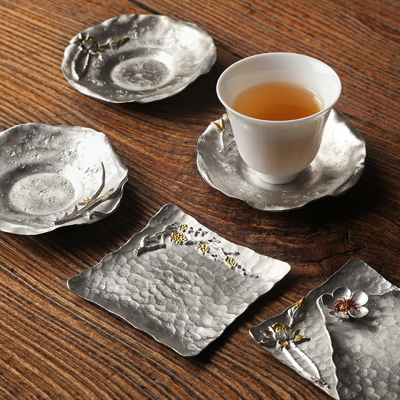 Creative Tin Teacup Pad