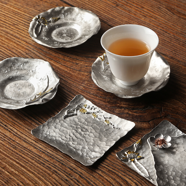 Creative Tin Teacup Pad