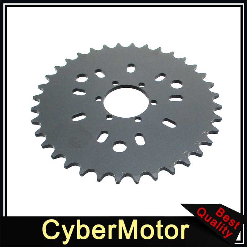 "1.5/"" CNC Red 36T Racing Sprocket Assembly Kit For 80cc Gas Motorised Bicycle"