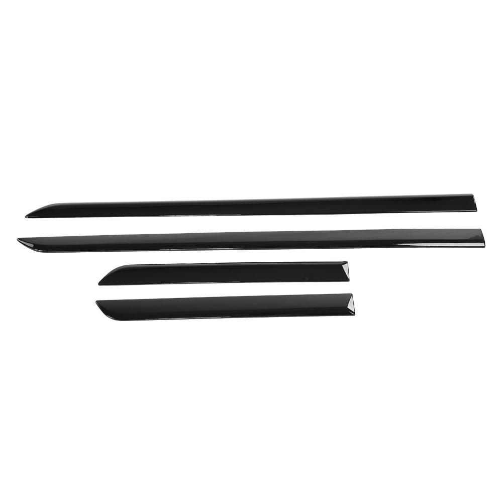 4pcs Car Exterior Door Decoration Strip Trim for Land Rover Discovery 5 2017 2018 New arrives