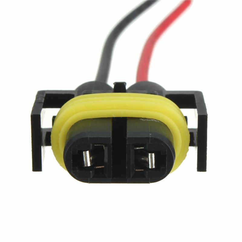Hot H8 H11 Female Adapter Wiring Harness Socket Car Auto Wire Connector Cable Plug For HID LED Headlight Fog Light Lamp Bulb