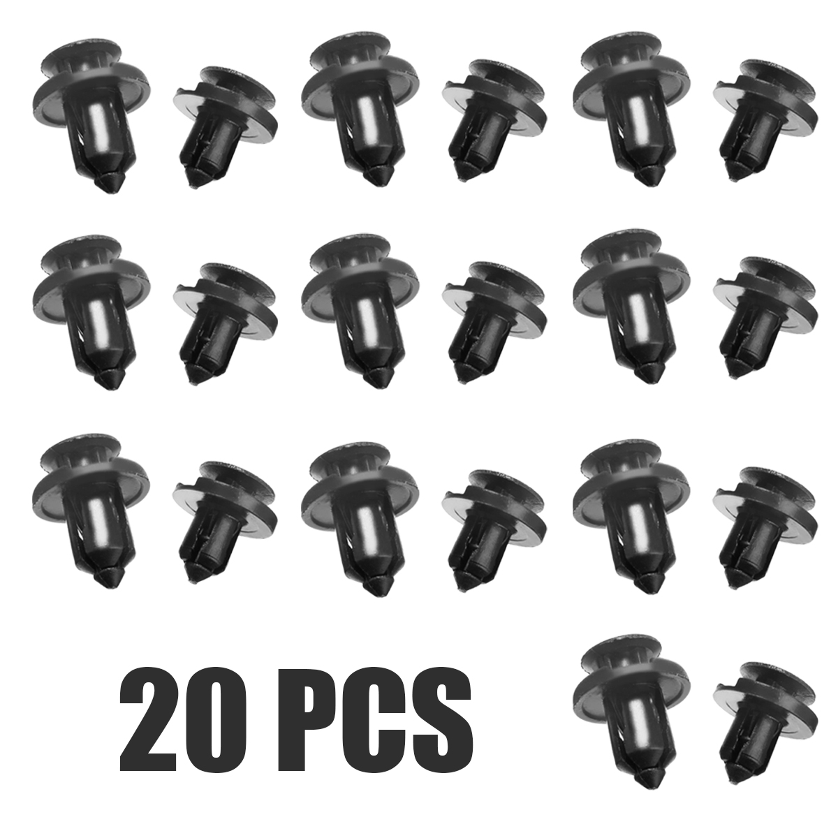 50pcs New Protector Moulding Side Fastener Clips for Honda Civic CRV Acura CL